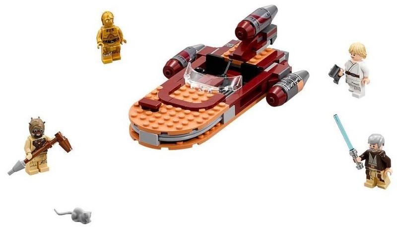 LEGO STAR WARS - 75173 - Luke's Landspeeder 75173_14
