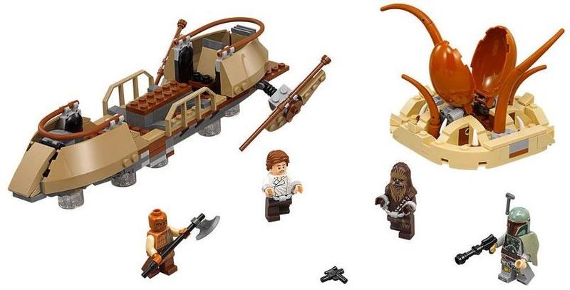 LEGO STAR WARS - 75174 - Desert Skiff Escape 75174_10
