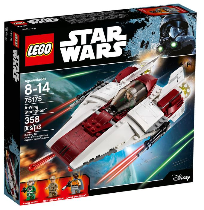 LEGO STAR WARS - 75175 A-Wing Starfighter 75175_10