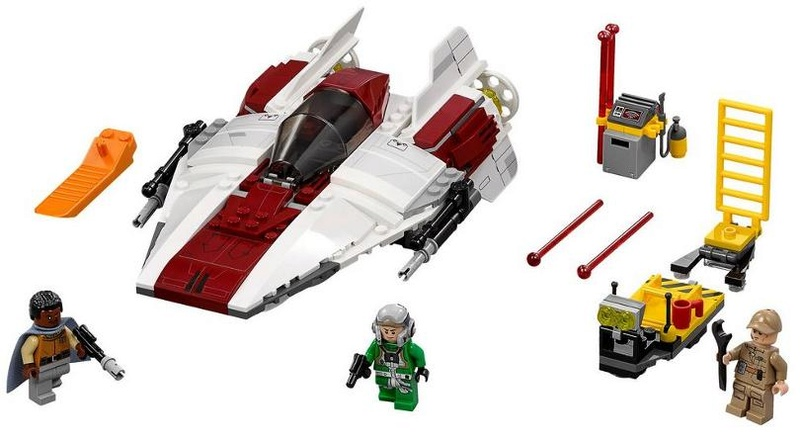 LEGO STAR WARS - 75175 A-Wing Starfighter 75175_16