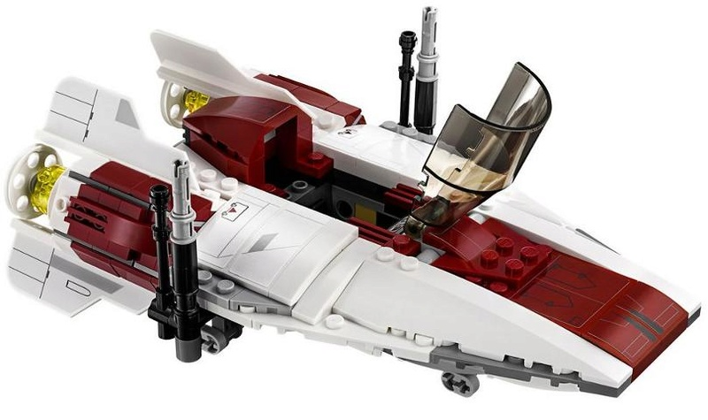 LEGO STAR WARS - 75175 A-Wing Starfighter 75175_17