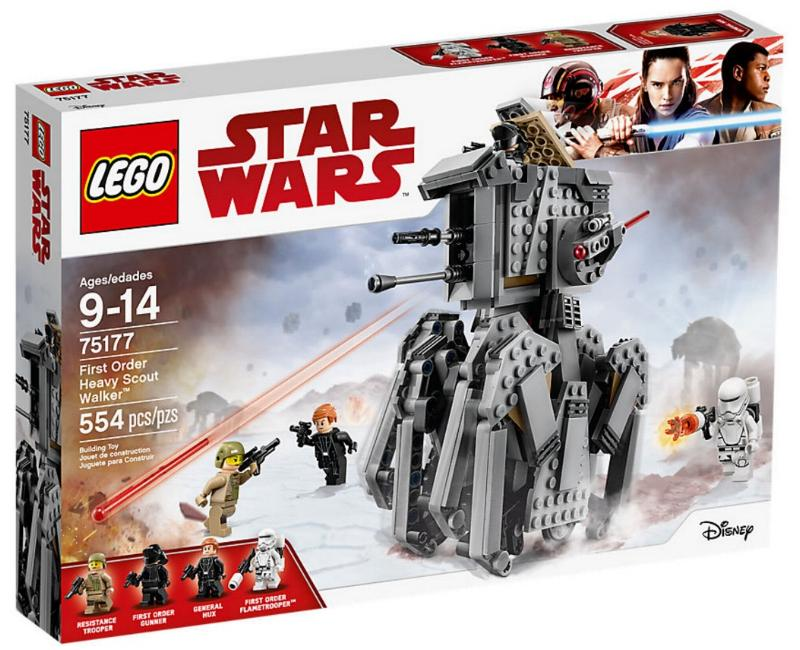 LEGO STAR WARS - 75177 - First Order Heavy Scout Walker 75177_10
