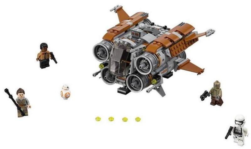 LEGO STAR WARS - 75178 - Jakku Quadjumper 75178_12