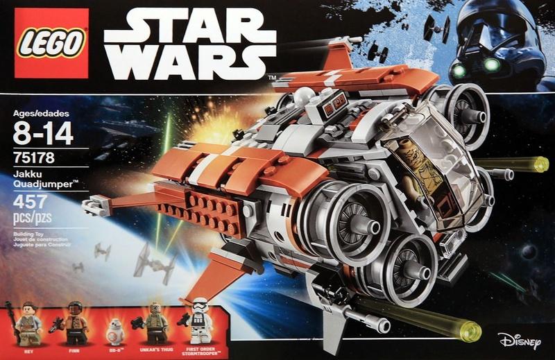 LEGO STAR WARS - 75178 - Jakku Quadjumper 75178_13