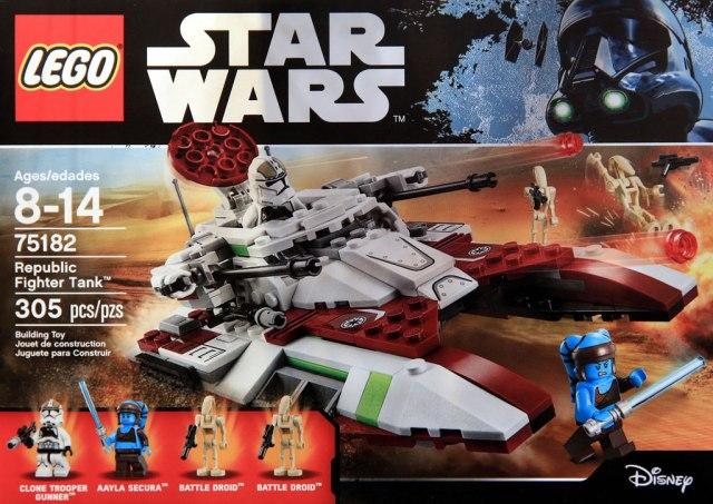 LEGO STAR WARS - 75182 - Republic Fighter Tank 75182_10