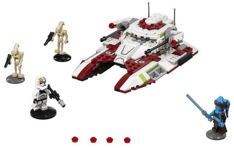 LEGO STAR WARS - 75182 - Republic Fighter Tank 75182_12
