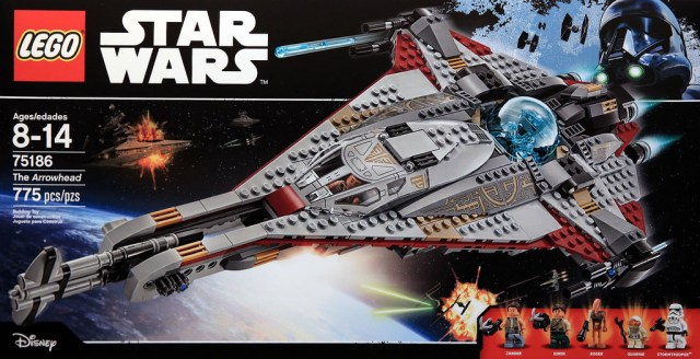 LEGO STAR WARS - 75186 - The Arrowhead 75186_10
