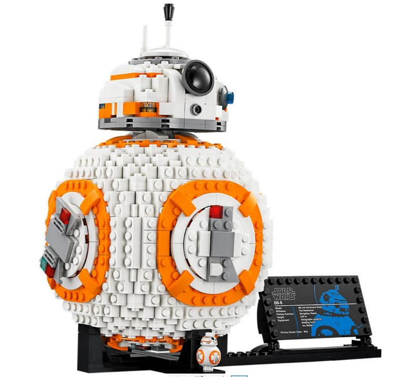 LEGO STAR WARS - 75187 - BB-8 75187_15