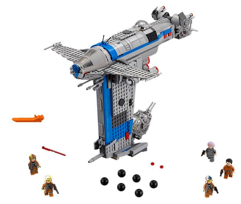LEGO STAR WARS - 75188 - Resistance Bomber  75188_11