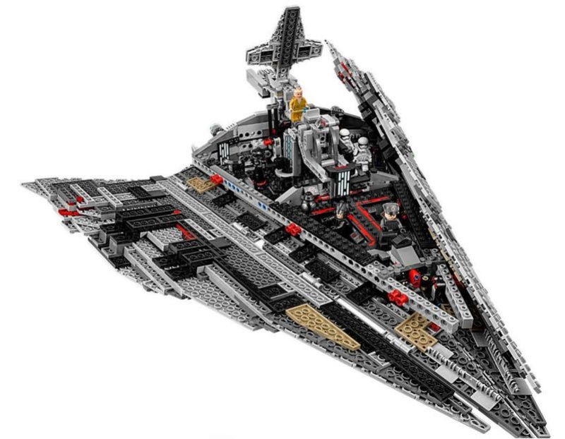 LEGO STAR WARS - 75190 - First Order Star Destroyer 75190_12