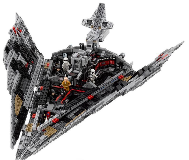 LEGO STAR WARS - 75190 - First Order Star Destroyer 75190_16