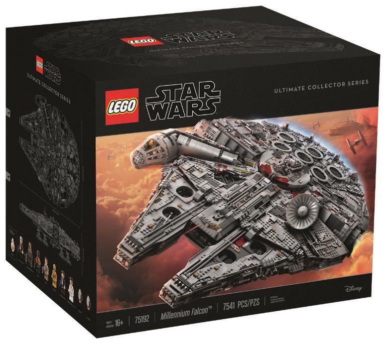 LEGO STAR WARS - 75192 Millennium Falcon UCS 75192_12