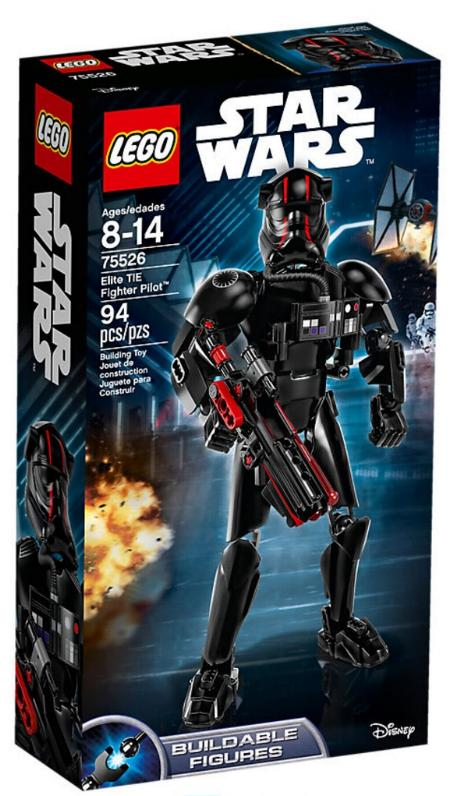 LEGO STAR WARS - 75526 - Elite TIE Fighter Pilot 75526_12