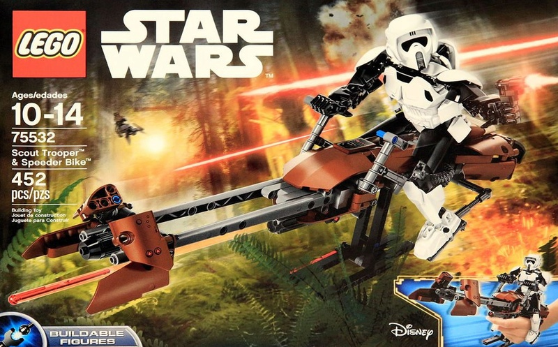 LEGO STAR WARS - 75532 Scout Trooper & Speeder Bike 75532_11