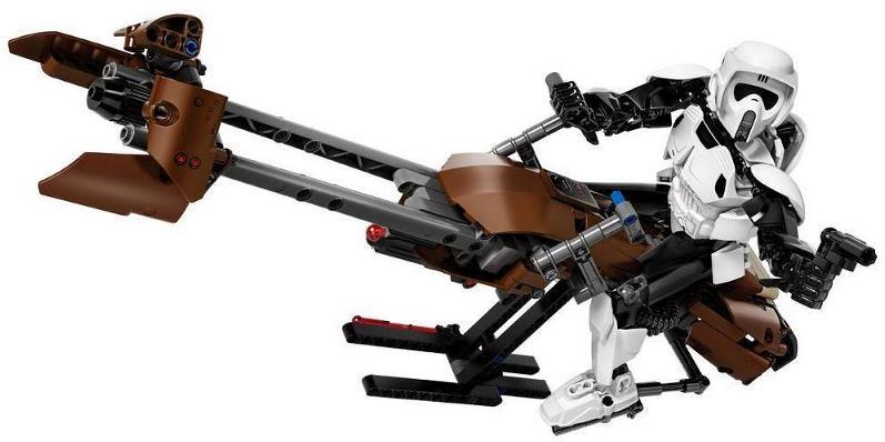 LEGO STAR WARS - 75532 Scout Trooper & Speeder Bike 75532_12
