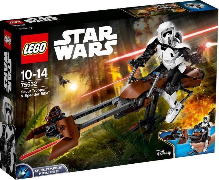 LEGO STAR WARS - 75532 Scout Trooper & Speeder Bike 75532_13