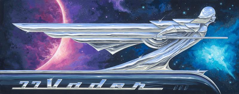Artwork Star Wars - ACME - 77 Vader 77_vad10