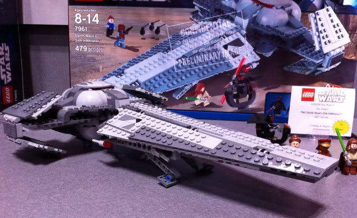 LEGO STAR WARS - 7961 - Darth Maul Sith Infiltrator  7961_010