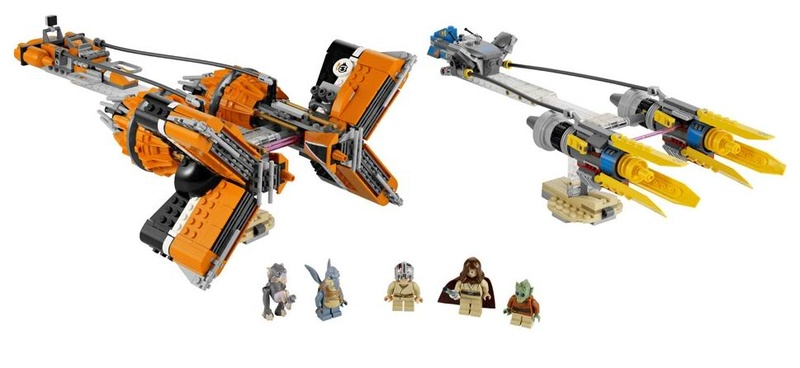 LEGO STAR WARS - 7962 - Anakin & Sebulba Podracers  7962_011