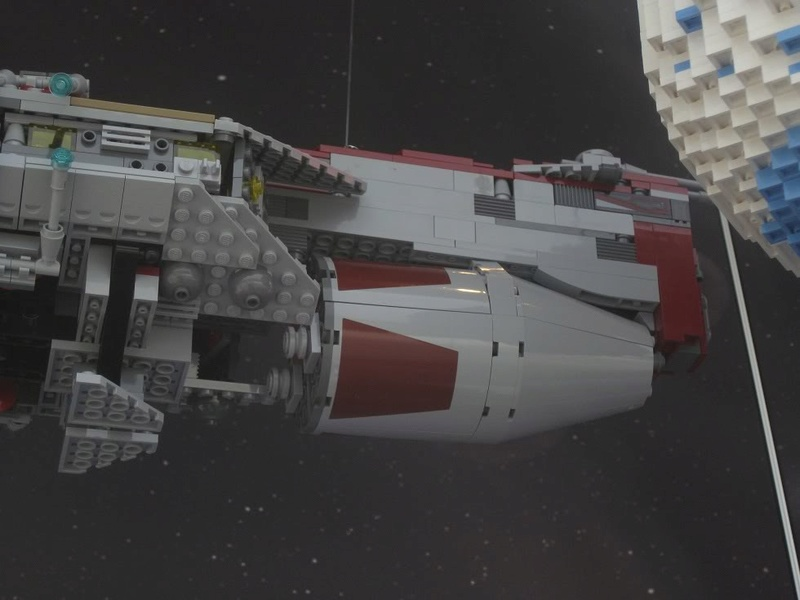 LEGO STAR WARS - 7964 - Frégate de la république 7964_016