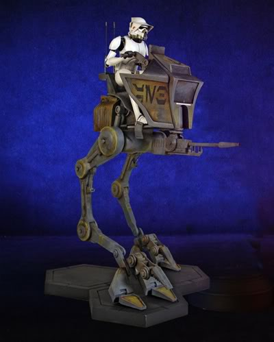 Gentle Giant - AT-RT w/Driver Maquette 80037-10