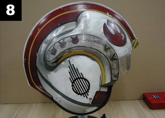 Efx - Luke Skywalker X-Wing Starfighter helmet 813