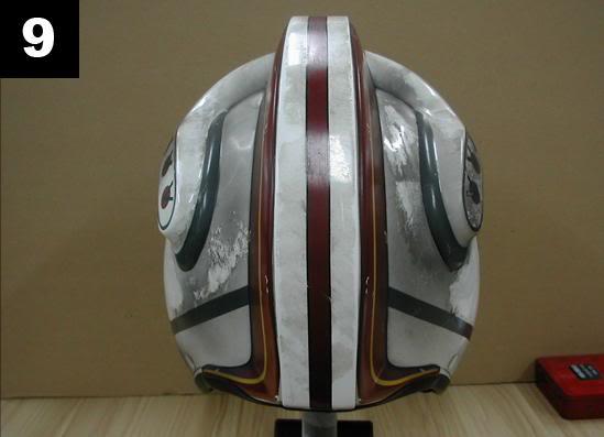 Efx - Luke Skywalker X-Wing Starfighter helmet 911