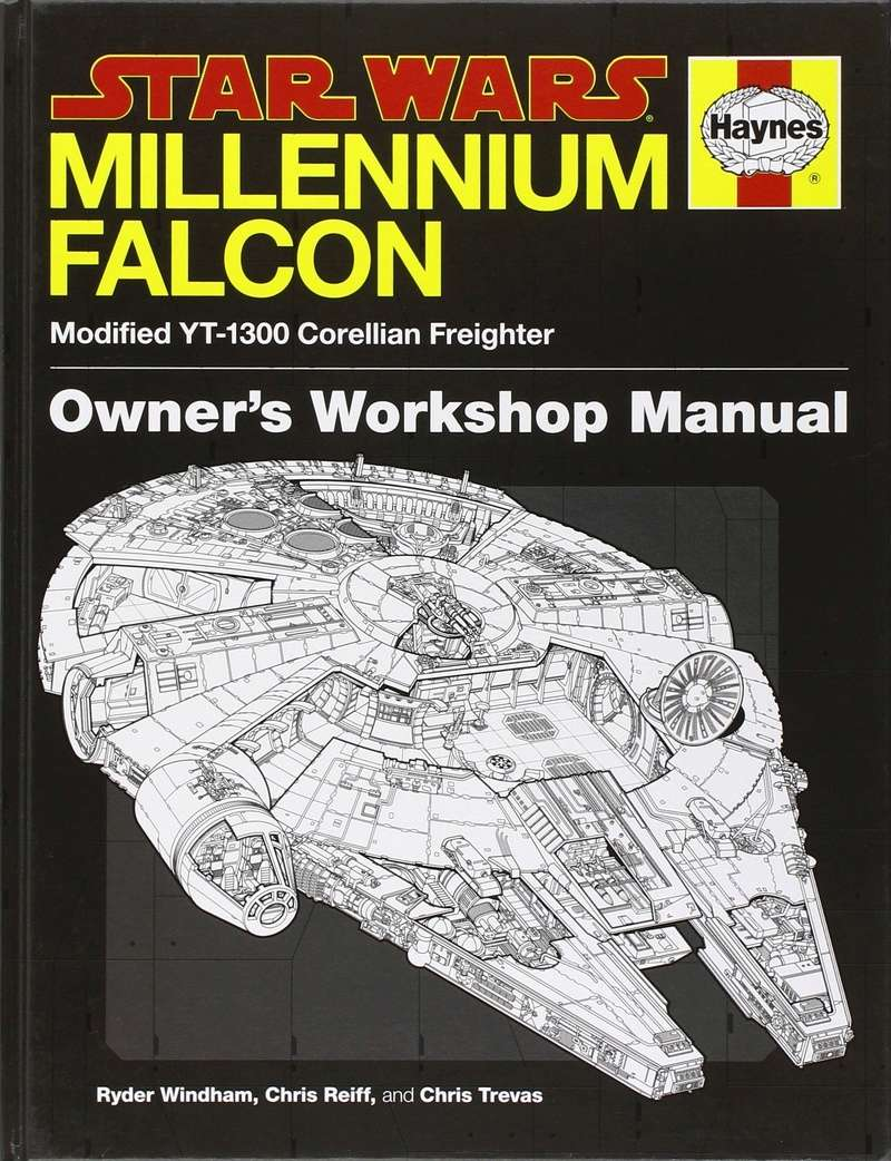 Star Wars - Revue technique du Faucon Millenium 9189dh10