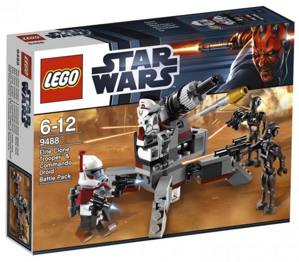 LEGO STAR WARS - 9488 Elite Clone Trooper & Commando Droid  9488_010
