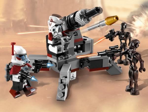 LEGO STAR WARS - 9488 Elite Clone Trooper & Commando Droid  9488_011