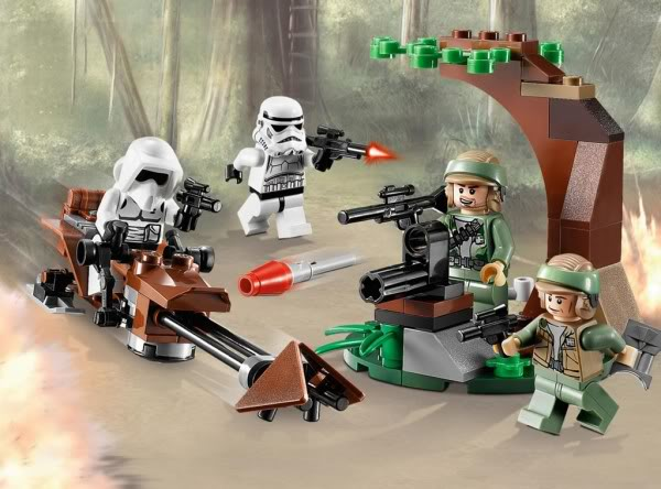 LEGO STAR WARS - 9489 Endor Rebel Trooper & Imperial Trooper 9489_010