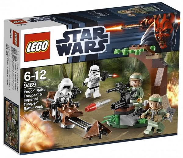LEGO STAR WARS - 9489 Endor Rebel Trooper & Imperial Trooper 9489_011