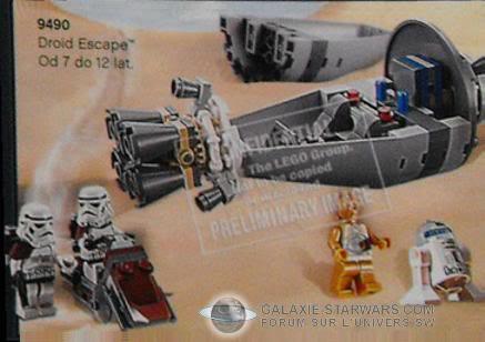 LEGO STAR WARS - 9490 - DROID ESCAPE 949010