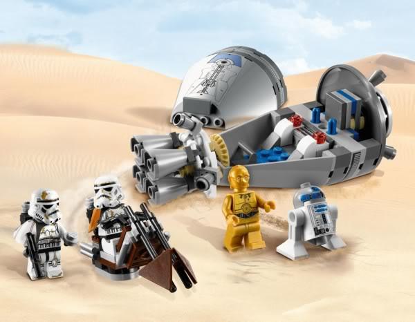 LEGO STAR WARS - 9490 - DROID ESCAPE 9490_010