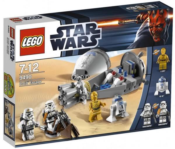 LEGO STAR WARS - 9490 - DROID ESCAPE 9490_011