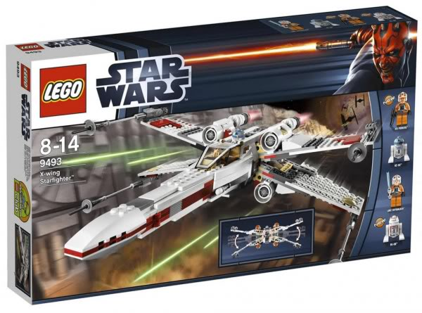 LEGO STAR WARS - 9493 - X-WING STARFIGHTER 9493_010