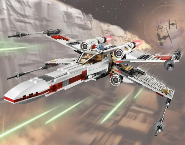 LEGO STAR WARS - 9493 - X-WING STARFIGHTER 9493_011
