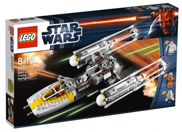 LEGO STAR WARS - 9495 - Gold Leader's Y-Wing Starfighter 9495_b10