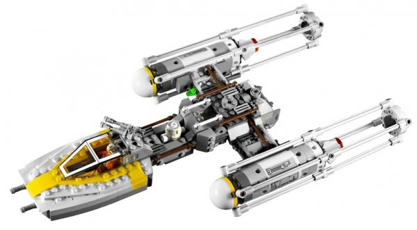 LEGO STAR WARS - 9495 - Gold Leader's Y-Wing Starfighter 9495_d10