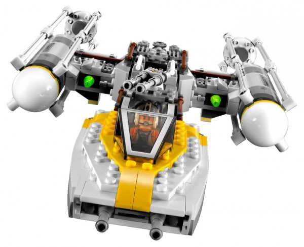 LEGO STAR WARS - 9495 - Gold Leader's Y-Wing Starfighter 9495_d11