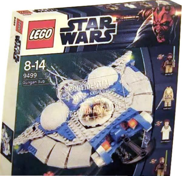 LEGO STAR WARS - 9499 - Gungan Sub  949910