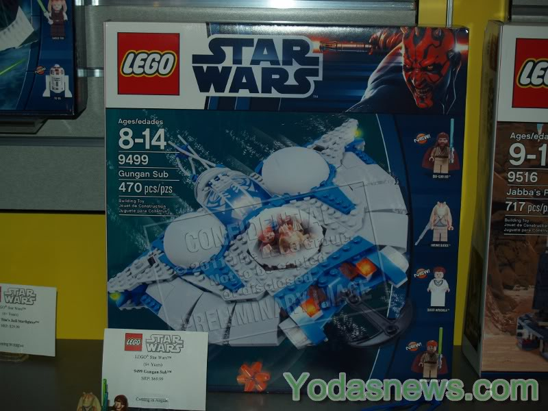 LEGO STAR WARS - 9499 - Gungan Sub  9499_011