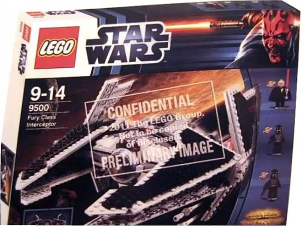 LEGO STAR WARS - 9500 - Fury Class Interceptor  950010