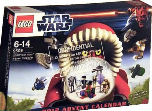 9509 LEGO Star Wars Advent Calender 2012 950910