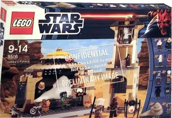 LEGO STAR WARS - 9516 - Jabba's Palace 951610