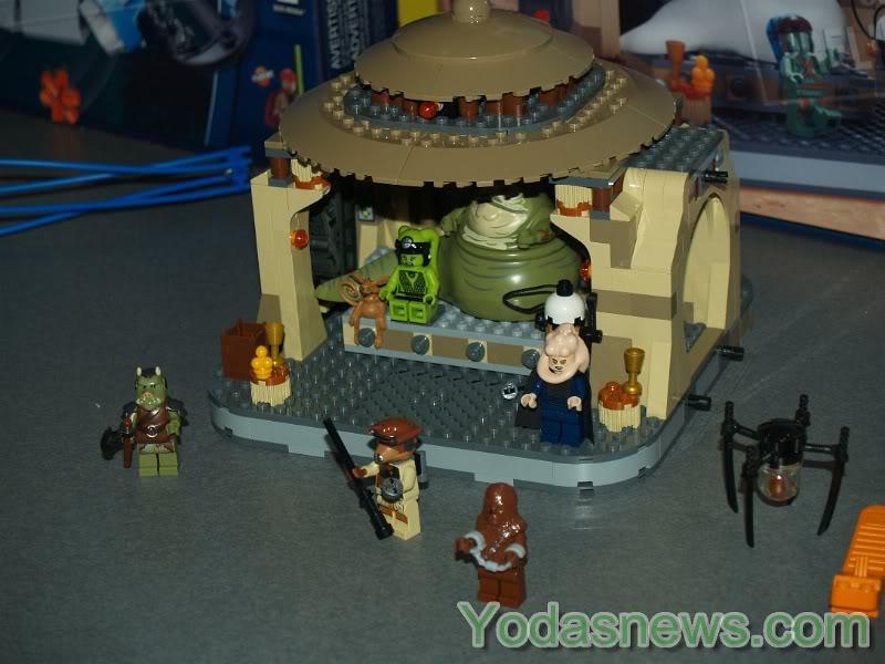 LEGO STAR WARS - 9516 - Jabba's Palace 9516_012