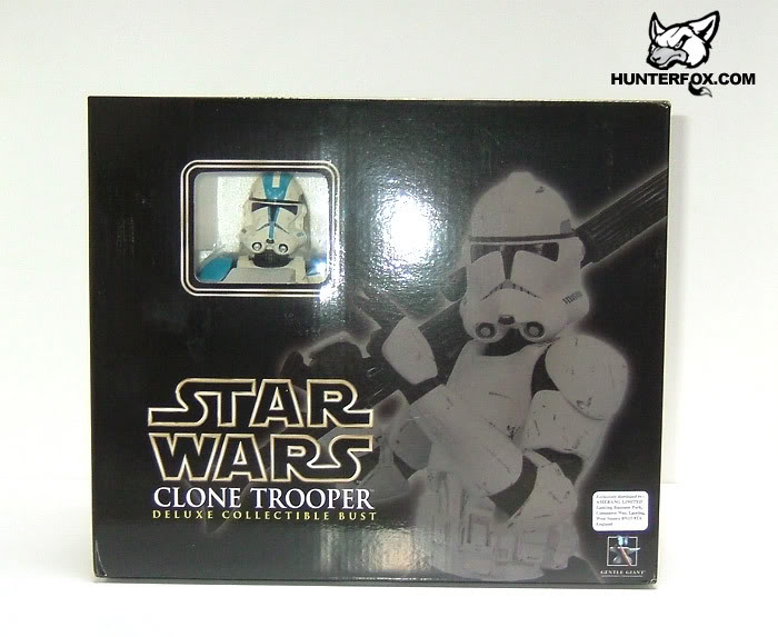 Clone Trooper 501st Special Ops (Blue) ROTS Mini bust 9910