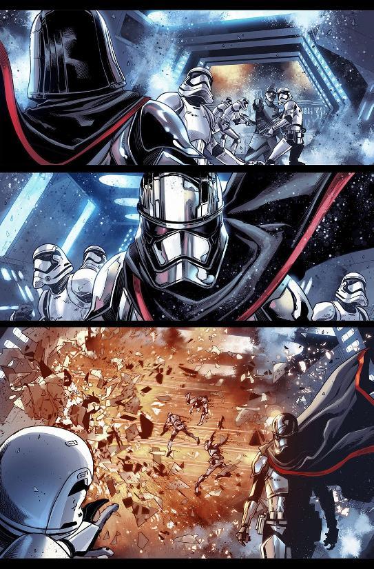 MARVEL Comics US - Star Wars: Captain Phasma A0310
