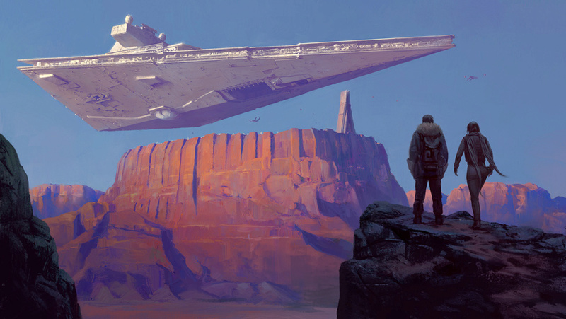 Artwork Star Wars Rogue One - ACME - A Looming Presence A_loom10