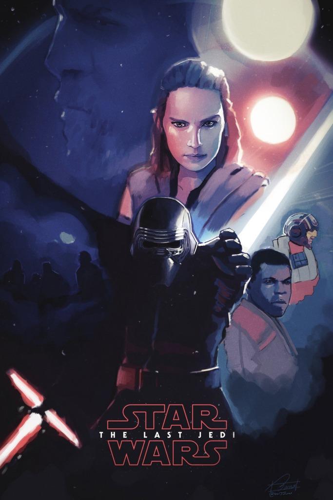 8 - Les posters de Star Wars VIII - The Last Jedi Aa0110